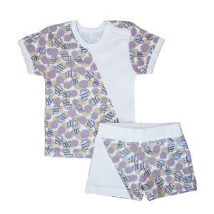 Комплект детский (футболка+шорты) размер:22(62),24(74),26(80),28(98) состав: интерлок
