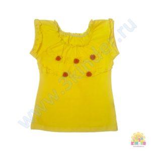 Блузка для девочки размер: 28,30,32,34 рост: 98-104;110-116;122-128;128-134 состав: 95% х/б, 5% лайкра