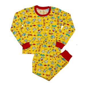 Пижама на девочку размер:28- 34 рост: 98-134 состав: 100% х/б