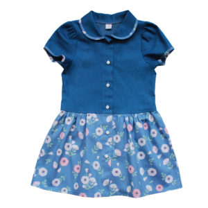 Платье размер: 28-36 рост: 104-146 состав: хлопок
