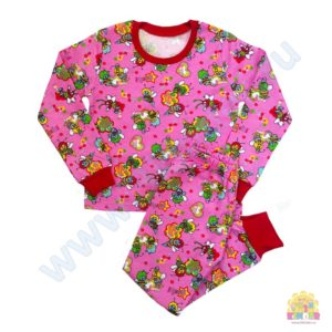 Пижама на девочку размер:28,30,32,34 рост: 98-104;110-116;122-128, 128-134 состав: кулир