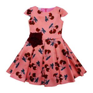 Платье размер: 26-28; 30-32 рост: 80-104; 104-128 состав: атлас