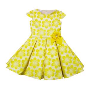 Платье размер: 26-28; 30-32 рост: 80-104; 104-128 состав: жаккард