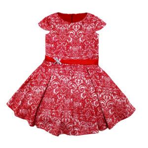 Платье размер: 24-26; 28-32 рост: 72-80; 98-122 состав: жаккард