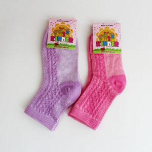 Носки Корейские для девочки Размер:17 Состав: хлопок 85%, спандекс 12%, эластик 3%