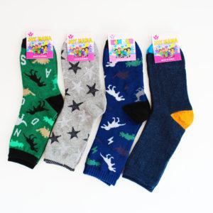 Носки Корейские подростковые для мальчика размер: 21 состав: хлопок 85%, спандекс 12%, эластик 3%