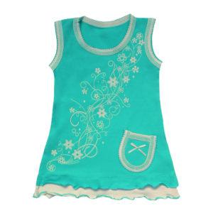 Платье на девочку размер:24-30 рост: 74-116 состав: стрейч-коттон
