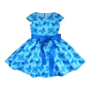 Платье размер: 28-34 рост: 104-140 состав: 80% хлопок,20% полиэстер