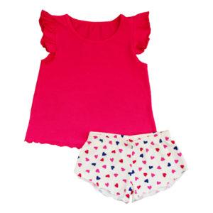 Пижама для девочки размер: 30-36 рост: 104-140 состав: интерлок