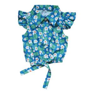 Блузка размер: 26-34 рост: 98-140 состав: 100% хлопок