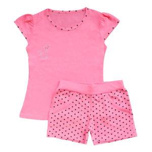 Пижама на девочку размер:28-34 рост: 98-134 состав: 100% хлопок