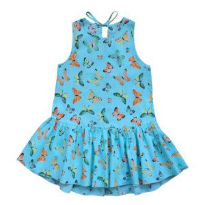 Платье размер: 28-34 рост: 104-140 состав: 100% хлопок