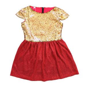 Платье размер: 28-34 рост: 104-140 состав: подклад-хлопок 100%, верх-полиэстер 100%